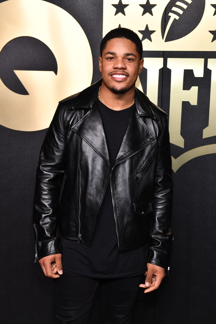 3b7ad67240de Giants wide receiver Sterling Shepard attends GQ 2019 NFL Honors After  Party at Gallery 874 on Feb. 02