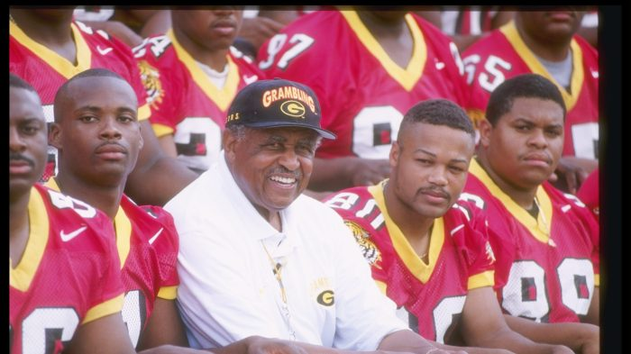 9f306bbdbb2 To Grambling's Eddie Robinson, football was more about molding men than  winning