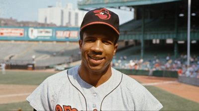 Portrait of Frank Robinson