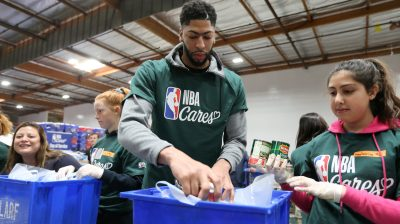 2018 NBA Cares All-Star Day of Service 2018