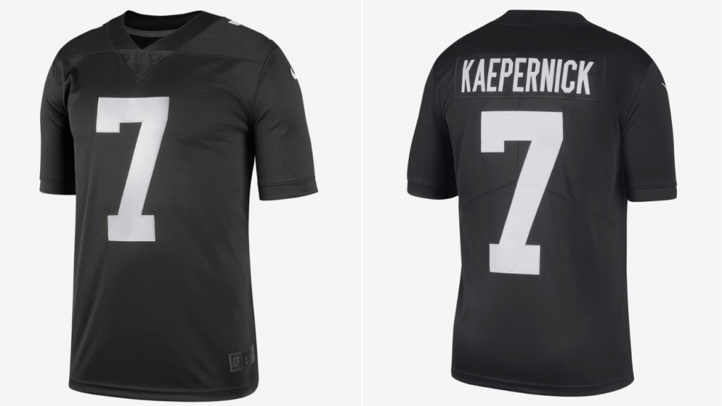 more photos d02a4 c9a38 Nike drops limited-edition Colin Kaepernick 'Icon' jersey