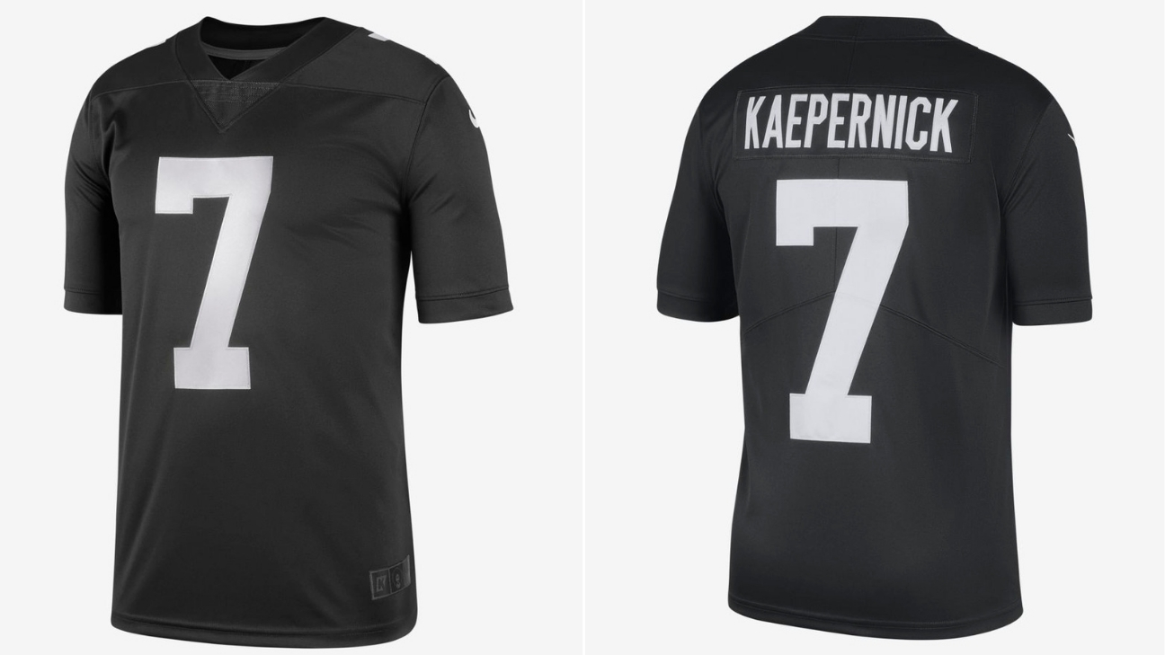 5dfec53a2 Nike drops limited-edition Colin Kaepernick  Icon  jersey