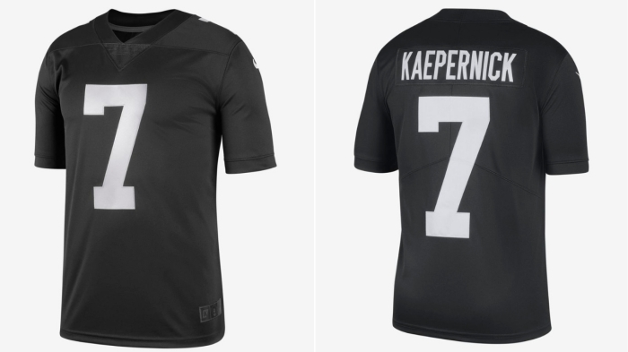 more photos a95b8 83d66 Nike drops limited-edition Colin Kaepernick 'Icon' jersey