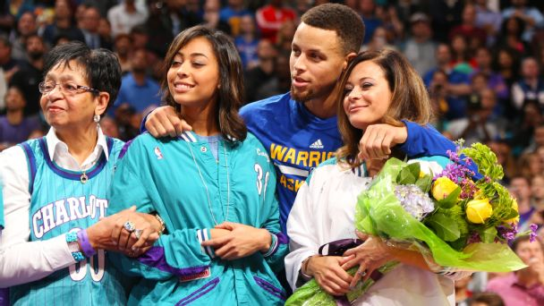 """4882231194d6 Sonya Curry turns experiences with racism into lessons for her children  Read now. """""""