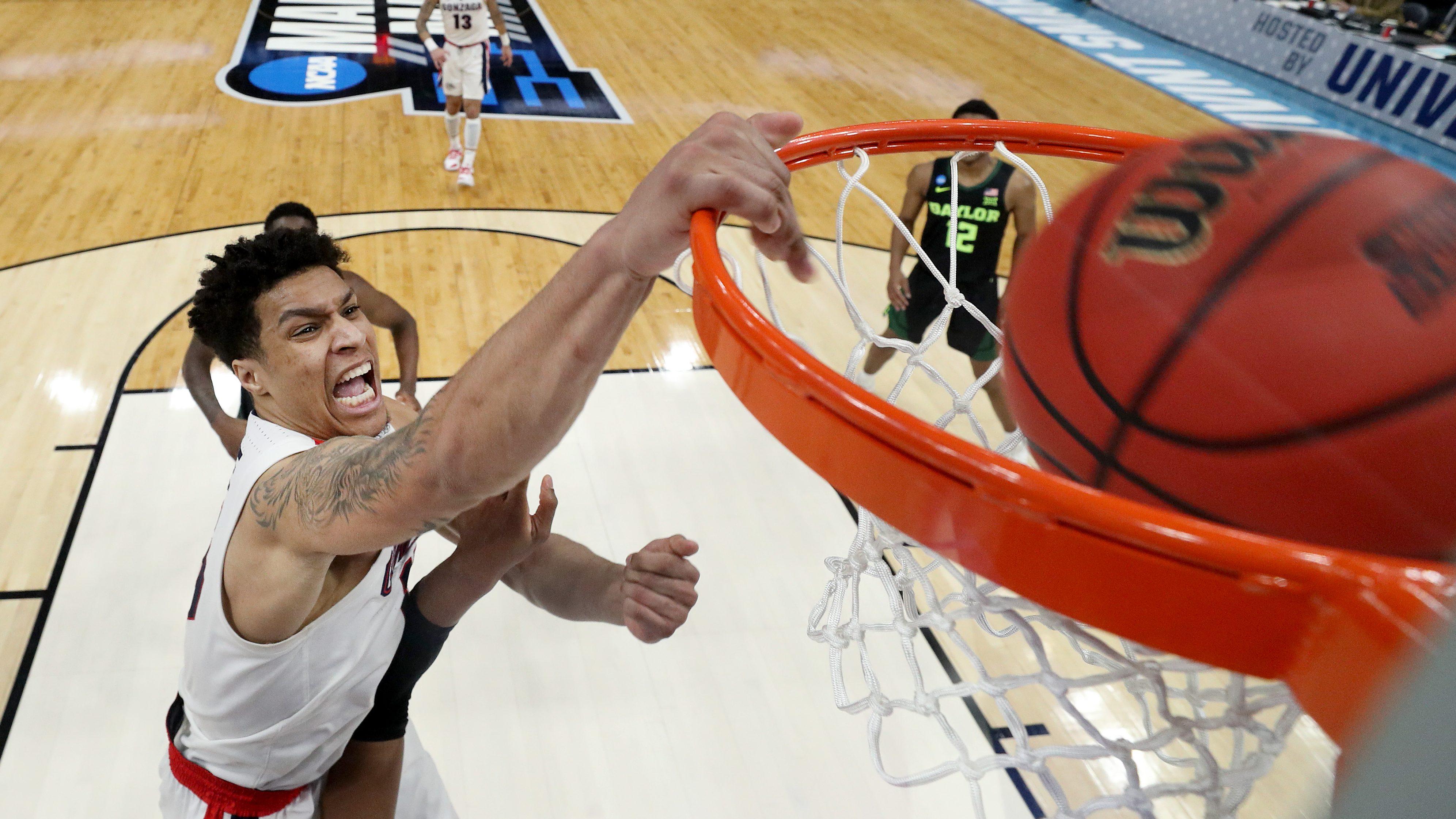 Brandon Clarke Gonzaga Bulldogs Basketball Jersey-White
