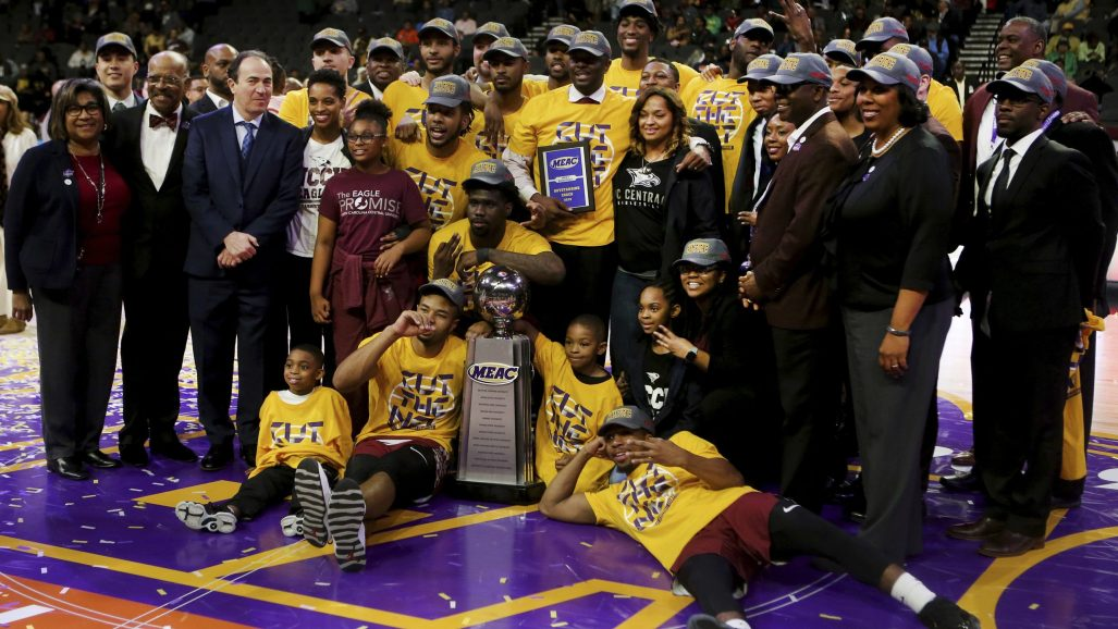MEAC NC Central Norfolk St Basketball