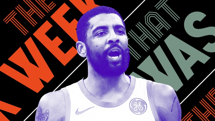 7772cce59a9 Kyrie Irving is upset and other news of the week