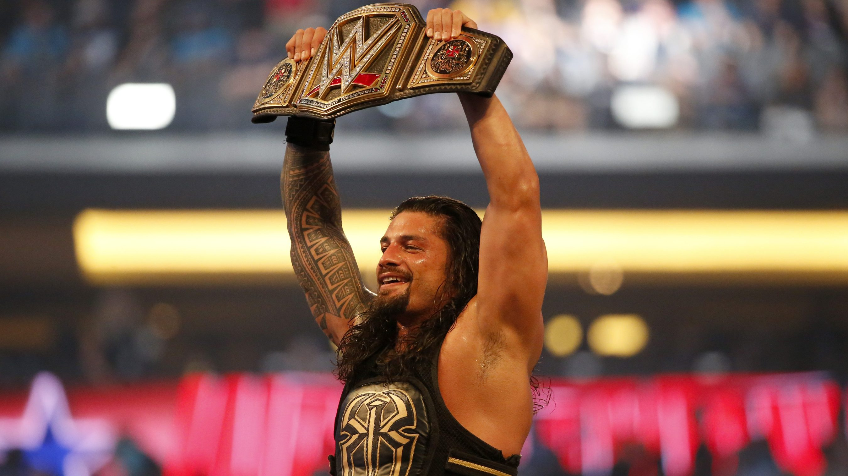 Wrestling Roman Reigns