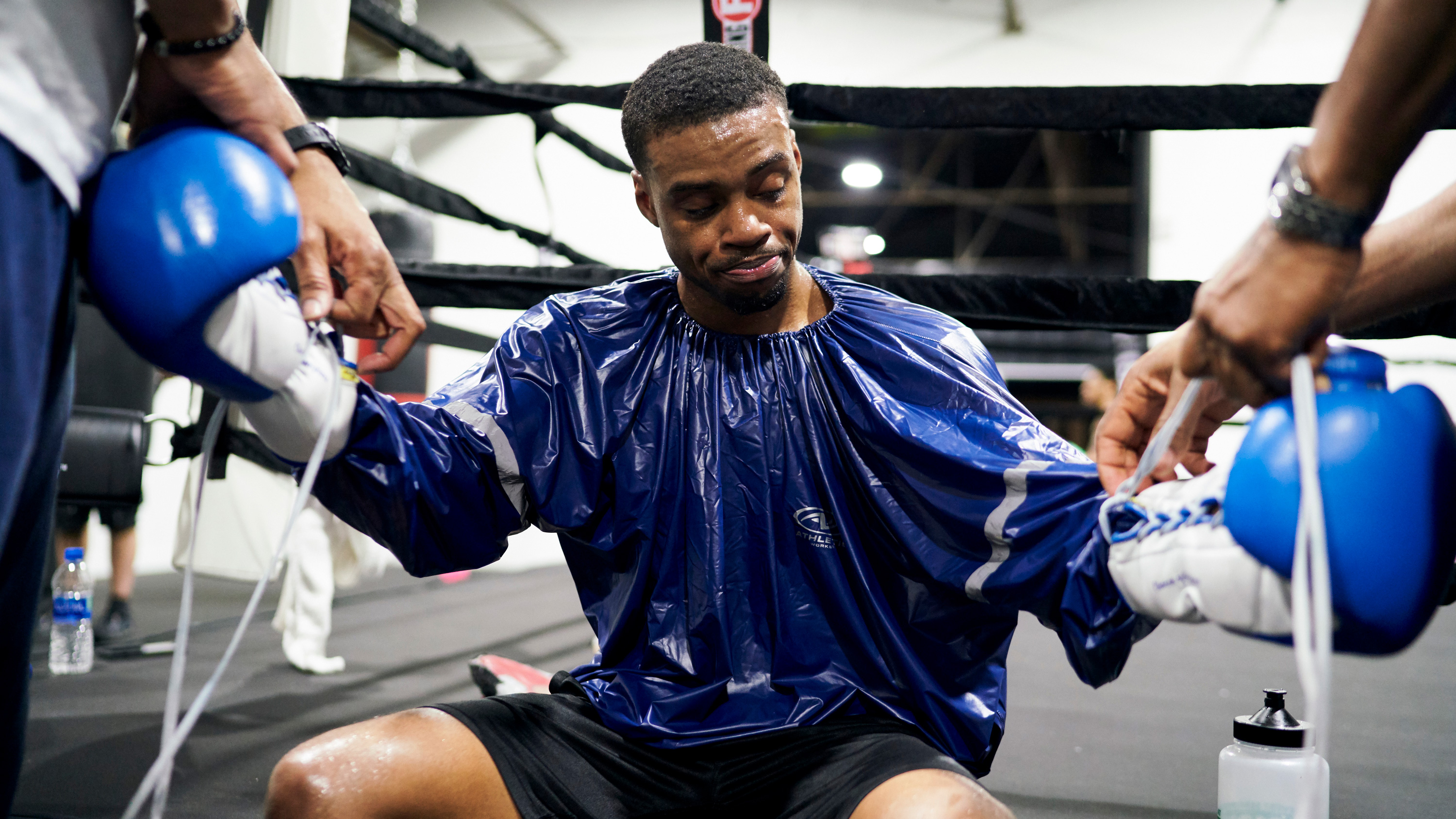For Errol Spence Jr , training is a family affair