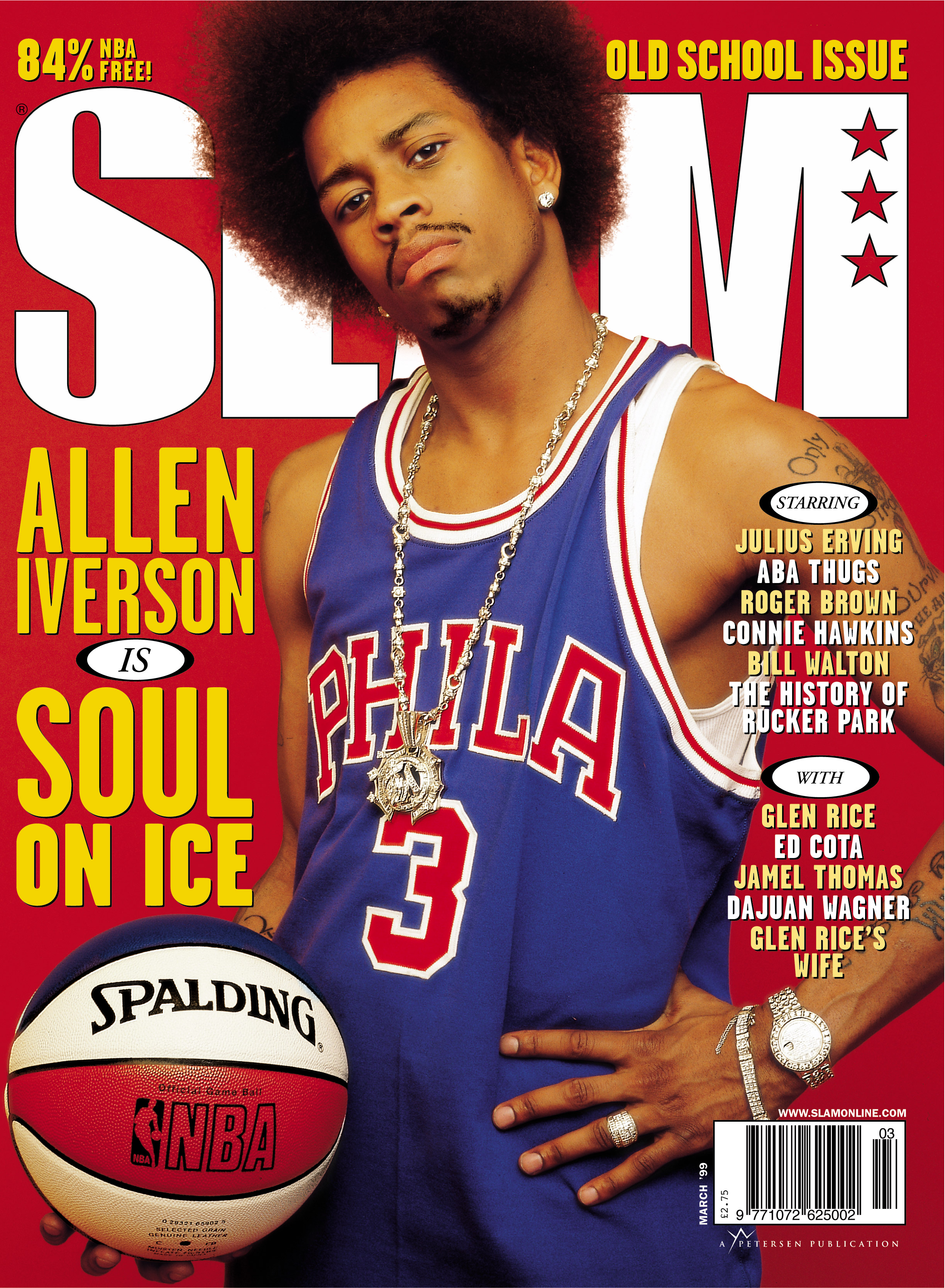 25bfb350e07 Allen Iverson's iconic 'Slam' magazine cover still resonates 20 years later