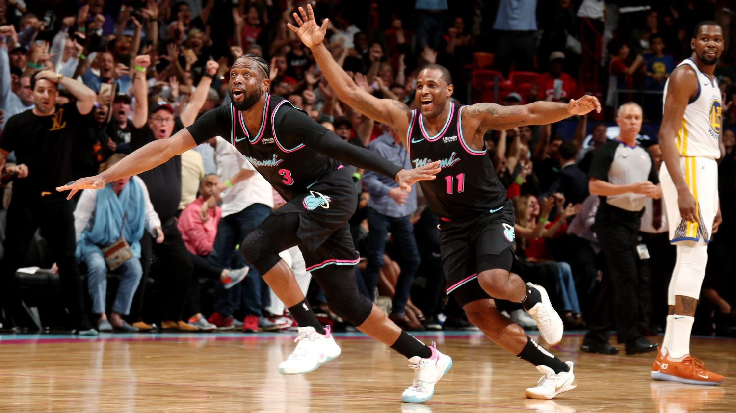 47f9993da9a A trio of legendary nights with Dwyane Wade as he says goodbye to the NBA