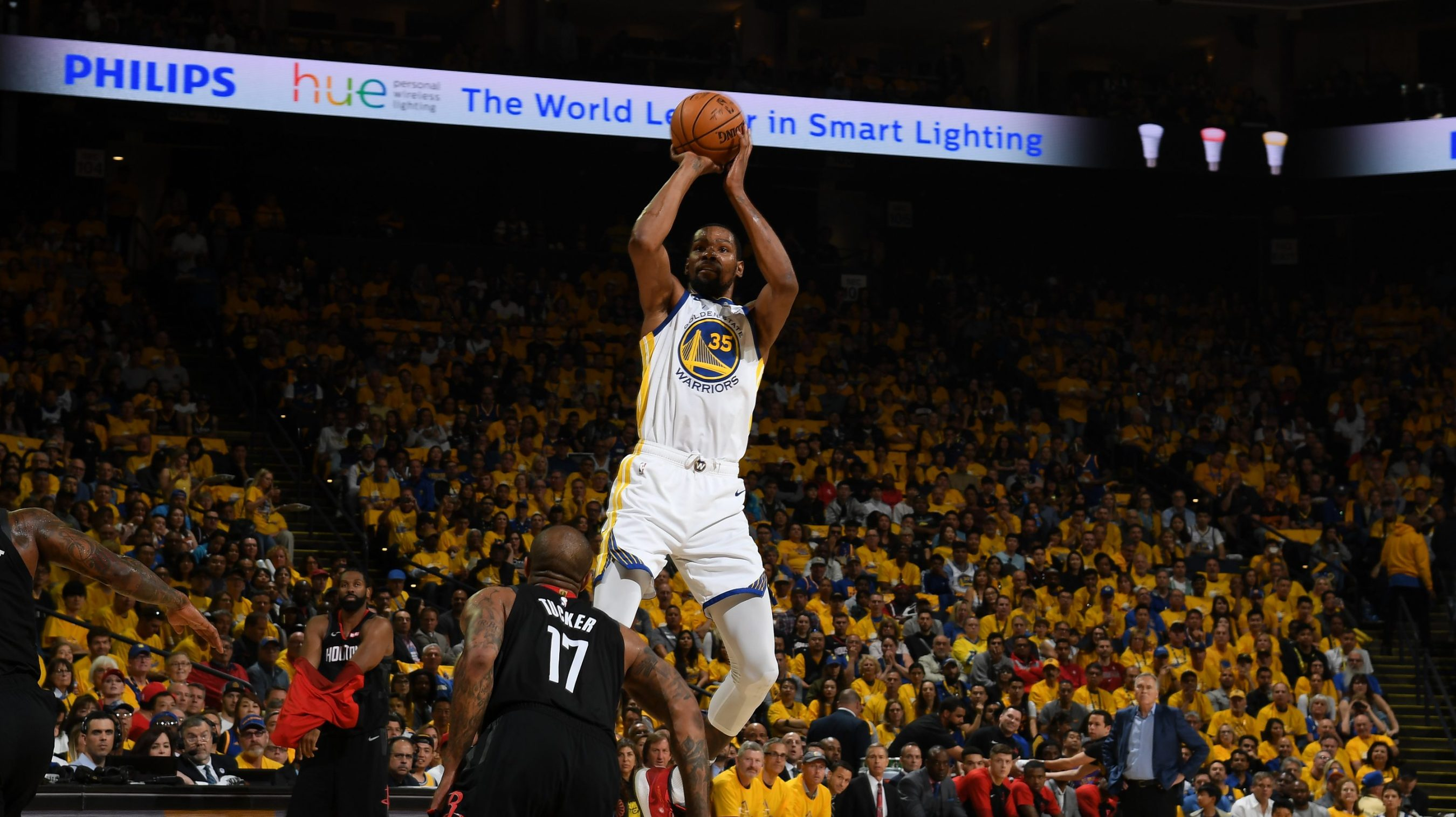 6237134fbc4 Kevin Durant is on fire, but what did you expect? He's Kevin Durant