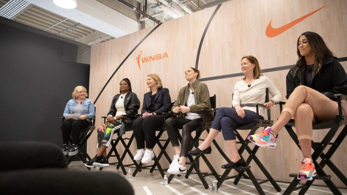 "WNBA ""All Kids Are Made To Play"" Panel"
