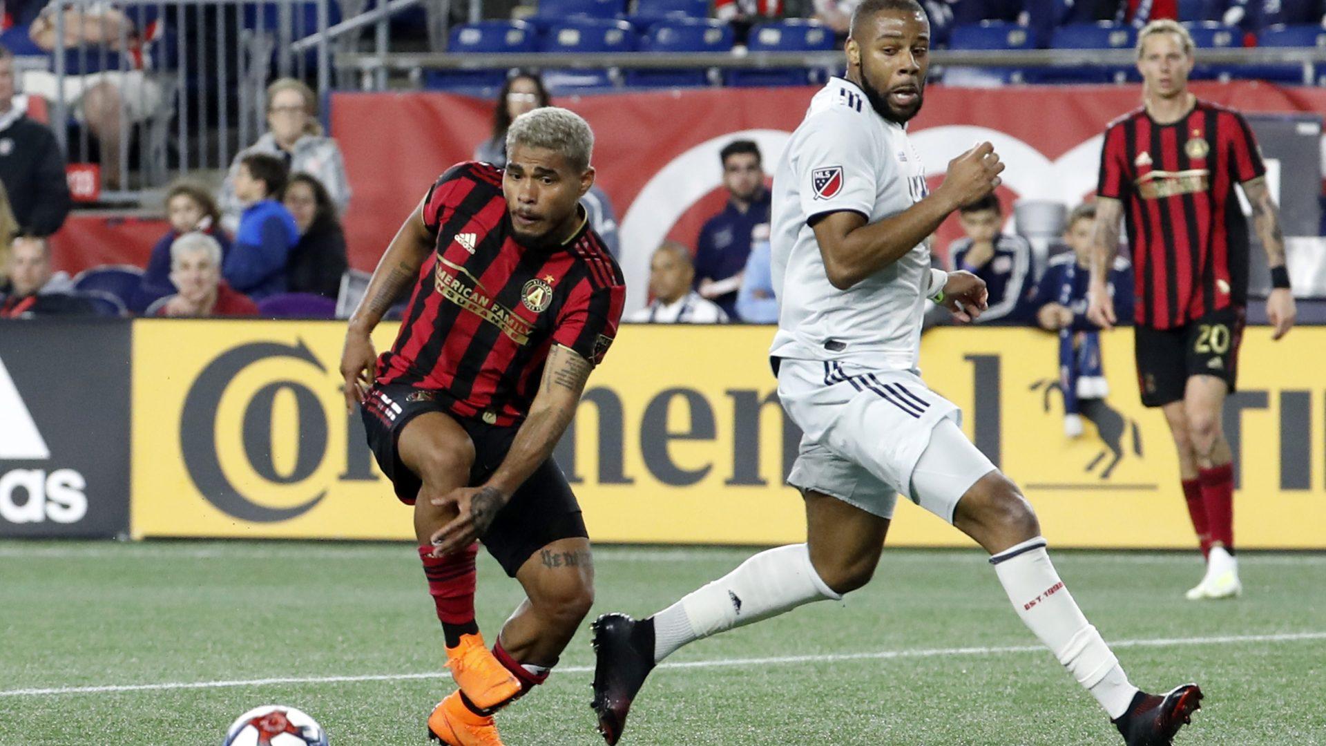 SOCCER: APR 13 MLS – Atlanta United FC at New England Revolution