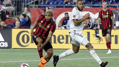 SOCCER: APR 13 MLS – Atlanta United FC at New England Revolution