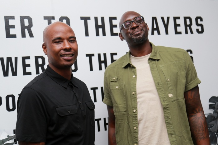 70111db1cac36c Quentin Richardson (left) and Darius Miles (right) attend Players  Night  Out 2018 hosted by The Players  Tribune on July 17