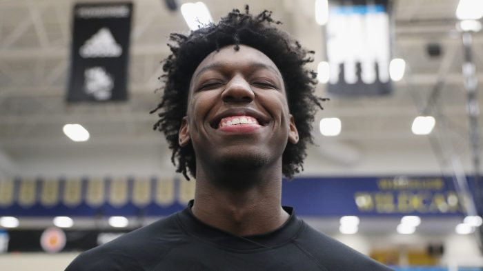 1a240238752c 1 NBA prospect James Wiseman is taking center stage