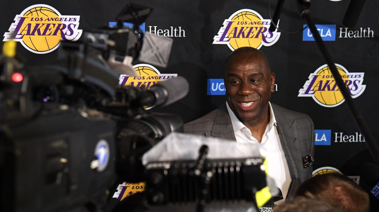 3ef4b2c8751 Magic Johnson's disappearing act isn't just the Lakers' loss Read now