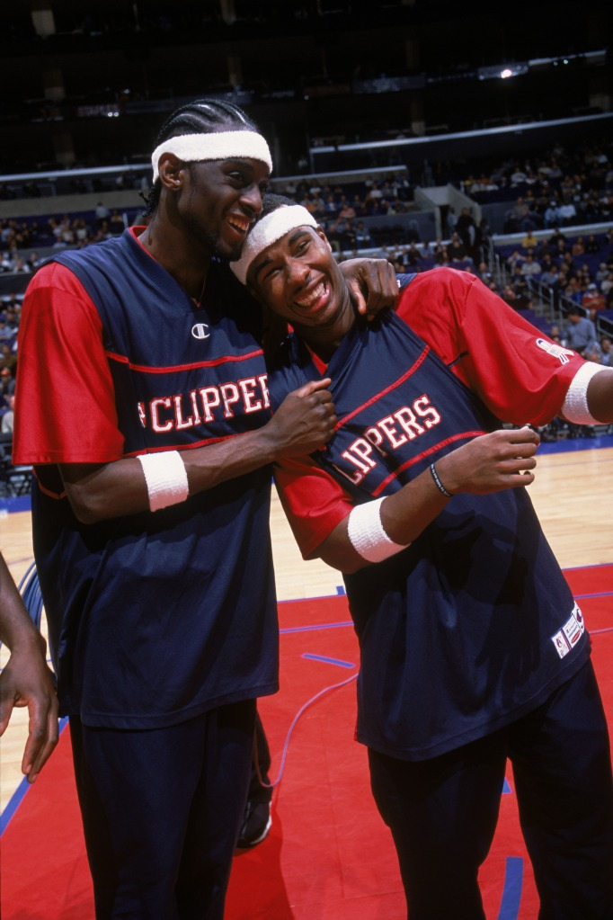 34d2128c25f4 NBA guard Quentin Richardson (right) of the Los Angeles Clippers and his  teammate