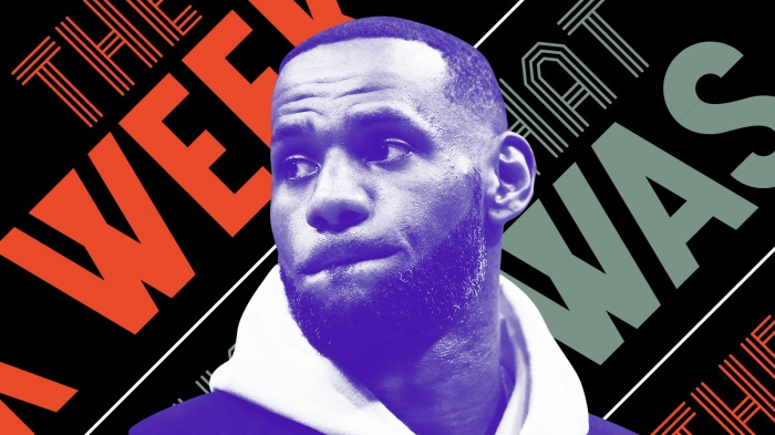 fdf159a7b0e No one wants to play with LeBron in  Space Jam 2  and other news of the week