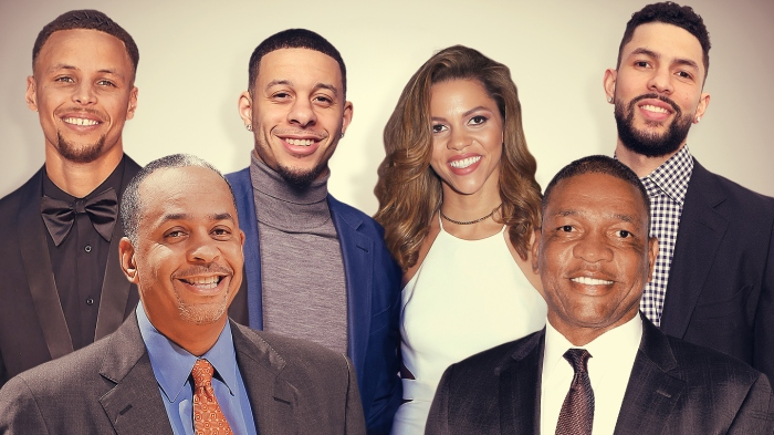 One big NBA family: How the Curry and Rivers clans are