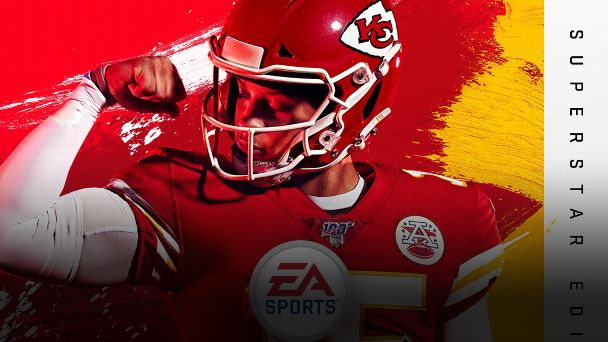 cheap for discount 998bc f0016 Patrick Mahomes becomes fifth black QB on 'Madden 20' cover