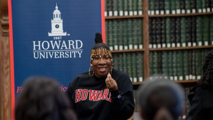 #MeToo movement is not just about white men, Tarana Burke tells HBCU students