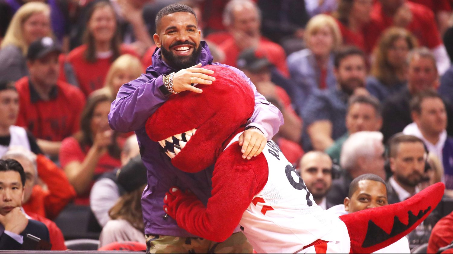 Raptors superfan Drake is the NBA's biggest celebrity playoff
