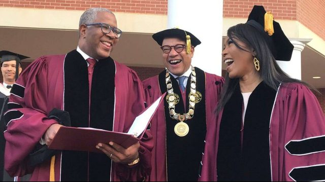Robert F. Smith and Morehouse graduation