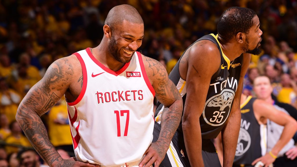 Rockets' P.J. Tucker: 'I'm living my dream right now guarding Kevin Durant'