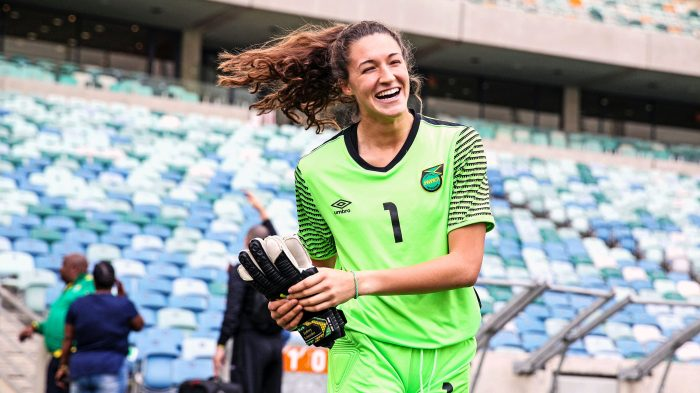 3a9bd3f1b How 19-year-old Sydney Schneider earned her spot on the Reggae Girlz
