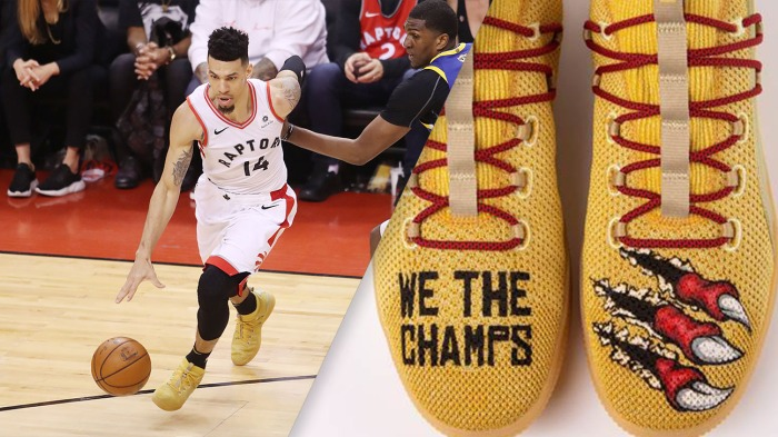 An inside look at Danny Green's championship swag