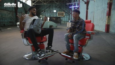 Karl-Anthony Towns talks style and swag with celebrity barber JayR Mallari