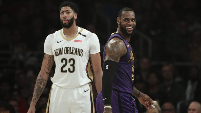 LeBron James,Anthony Davis