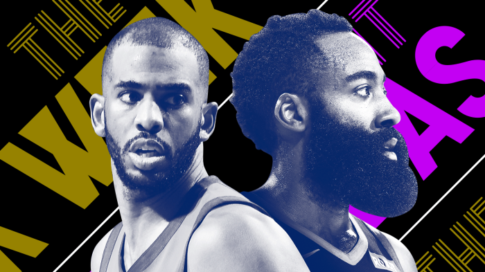 James Harden and Chris Paul are beefing and other news of the week