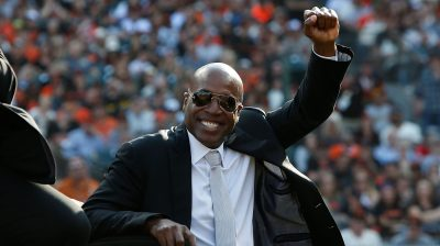 Barry Bonds San Francisco Giants Number 25 Retirement Ceremony