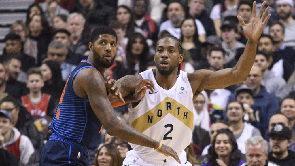 Kawhi Leonard and Paul George pull off ultimate power move