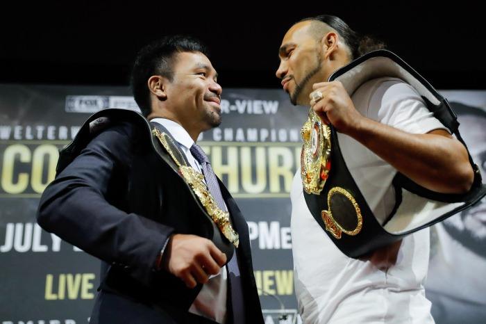 In his fight against Manny Pacquiao, is Keith Thurman the