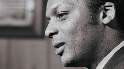 Portrait of Curt Flood