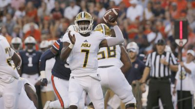 NCAA Football: Alabama State at Auburn