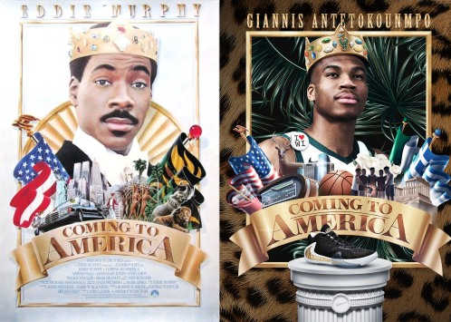 Coming to America Sneaker