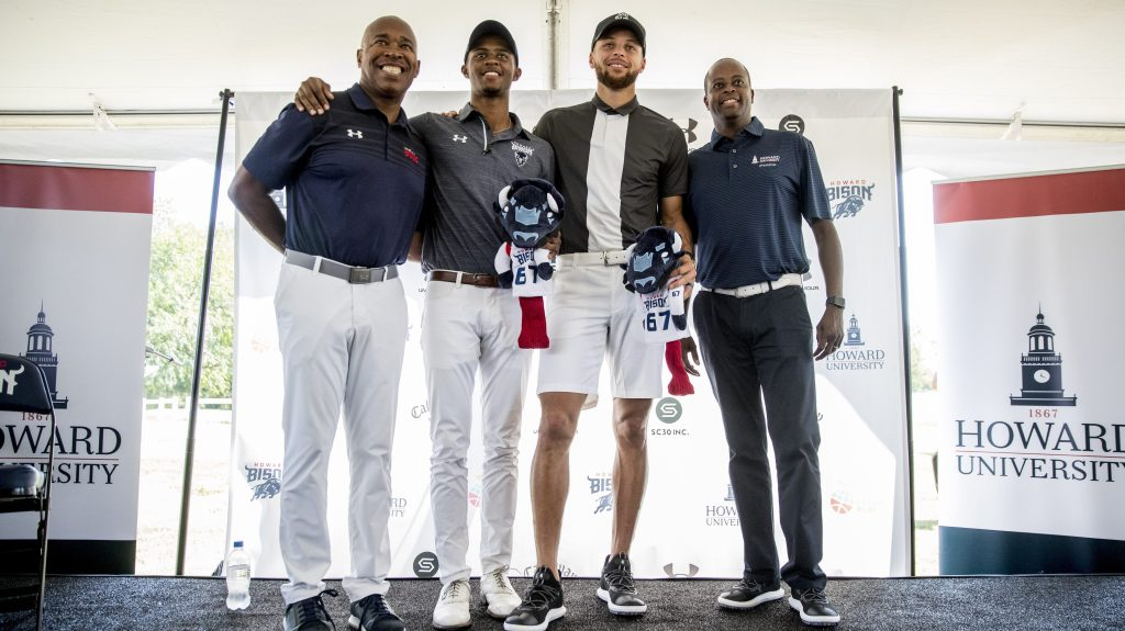 Golf collaboration with Stephen Curry is 'natural fit' for Howard