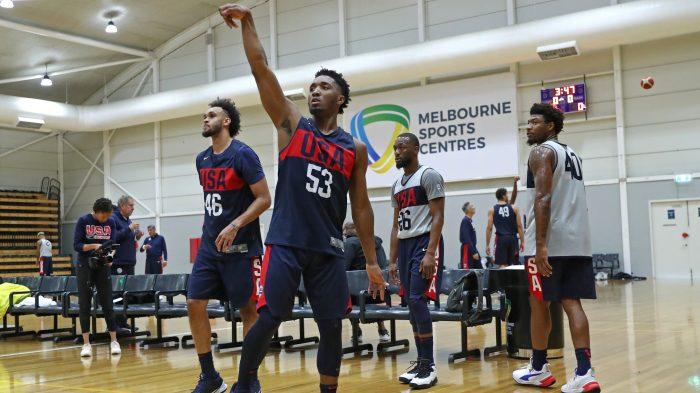 USA Basketball Mens National Team Practice – Australia
