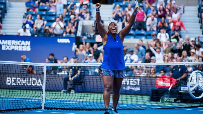 Taylor Townsend has her come up at the US Open
