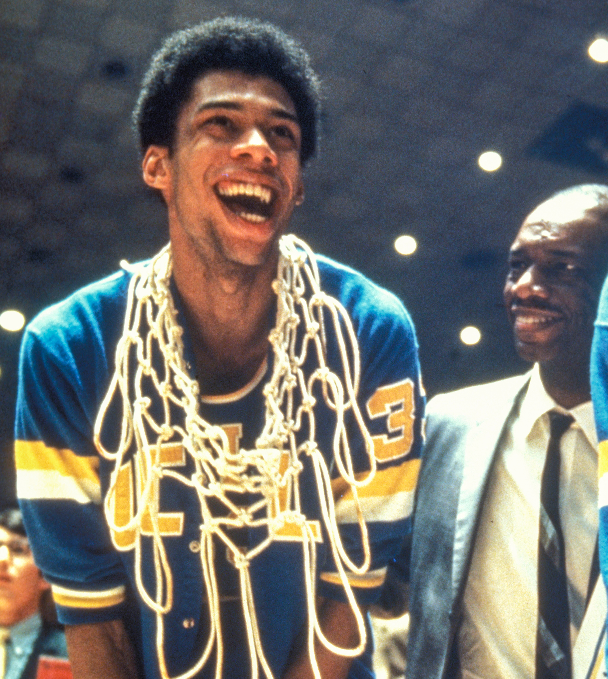 50 years ago, Alcindor and O J  were both leaving L A , but