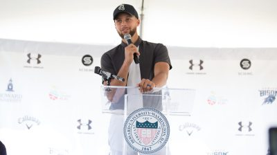 Steph Curry & Howard University Golf Program Press Conference