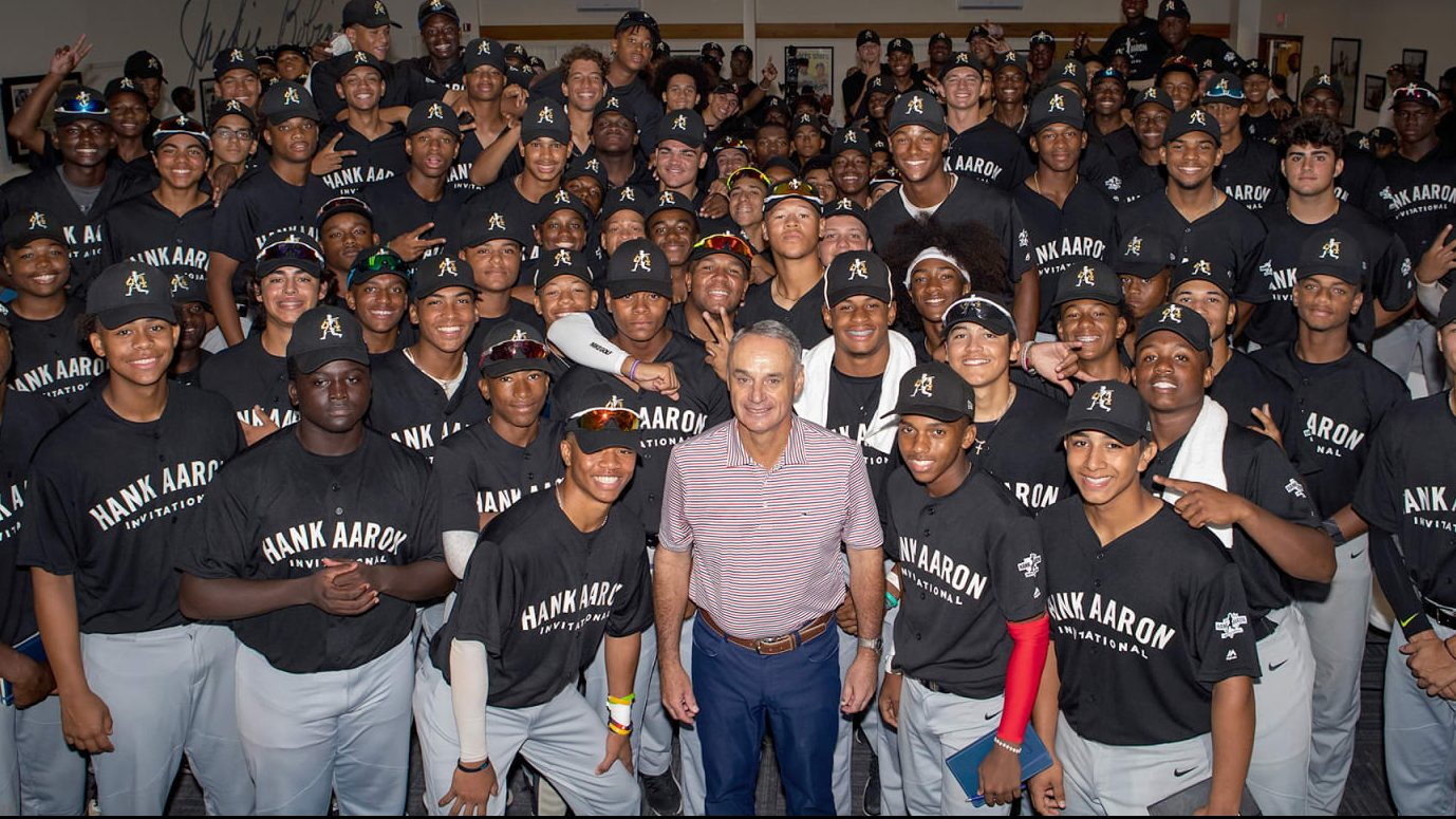 MLB and former players pitch in to get young black talent in the game