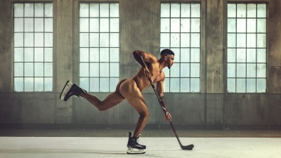 Evander Kane for ESPN Body Issue