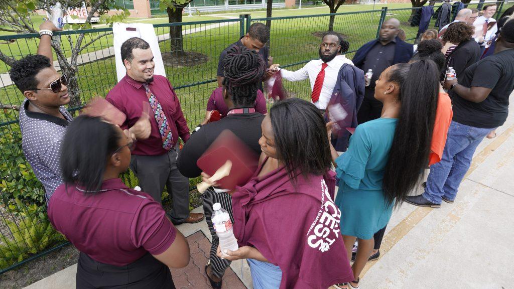 Texas Southern University basks in the Democratic debate spotlight