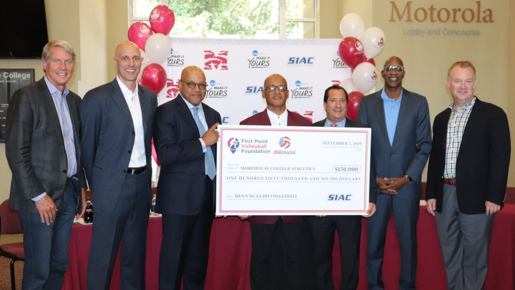 Morehouse, five other HBCUs to start men's volleyball programs with $1 million grant